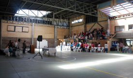 Lautaro Gymnasium Inside
