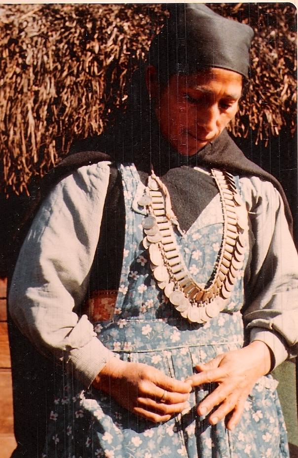Linhart Mapuche Woman